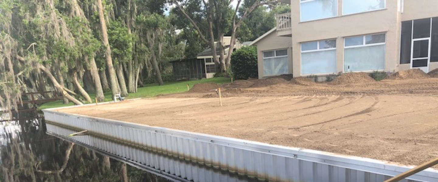 sea wall installation clermont fl